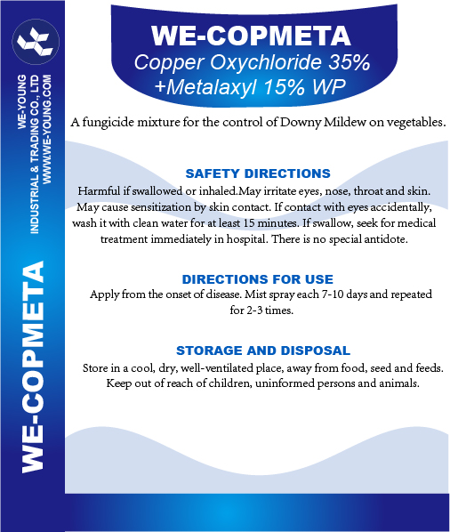 Copper Oxychloride+Metalaxyl