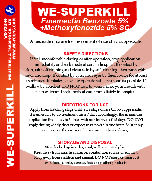 Emamectin benzoate+Methoxyfenozide